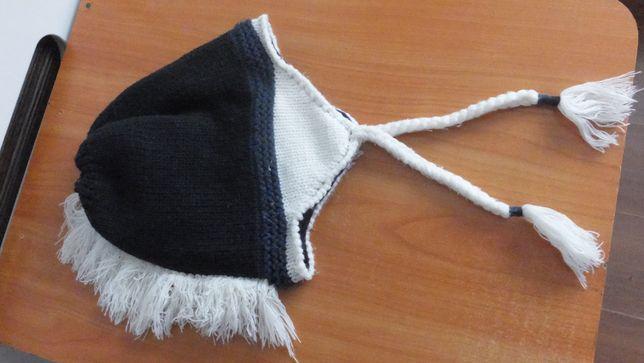 теплая зимняя двойная шапка ирокез Blukids Gruppo Coin Venezia Италия