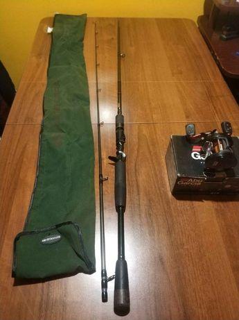 Wędka castingowa Savage Gear XLNT3 2.13 100g+Multiplikator STX 4601LH