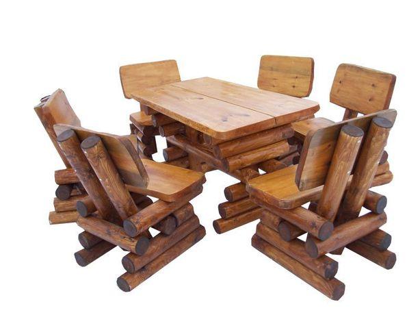 Meble ogrodowe,barowe,drewniane z drewna. TRANSPORT 150 ZŁ
