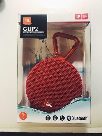 JBL Clip 2 czerwony głośnik bezprzewodowy nowy