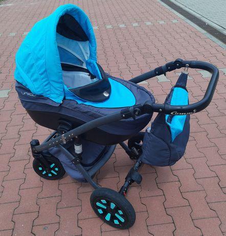 Wózek 3w1 Unico Commi torba,parasolka i folia w zestawie