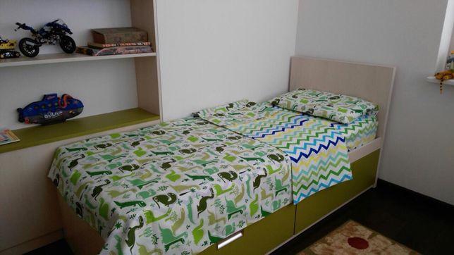 Постельное белье детское,полуторный комплект детский,детская постель.