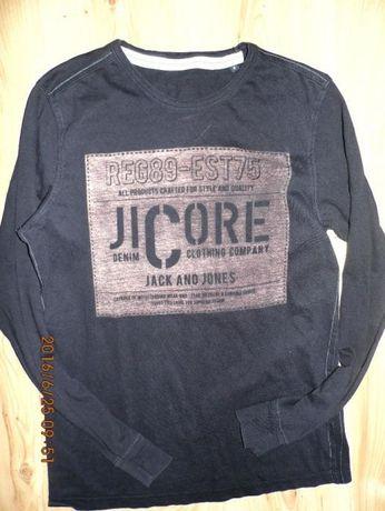 Jack and Jones- super koszulka czarna s