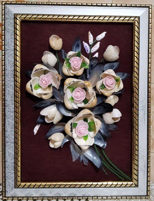 Картиниі из ракушек Кропивницкий - изображение 1