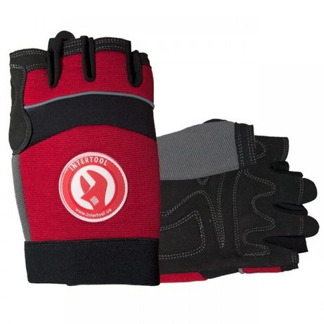 Перчатка Microfiber без пальцев, вставки спандекса и неопрена, эластич