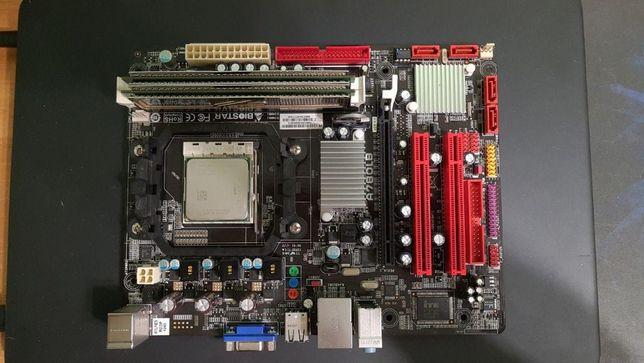 Biostar A780LB, OCZ 2GB DDR2 PC2-6400
