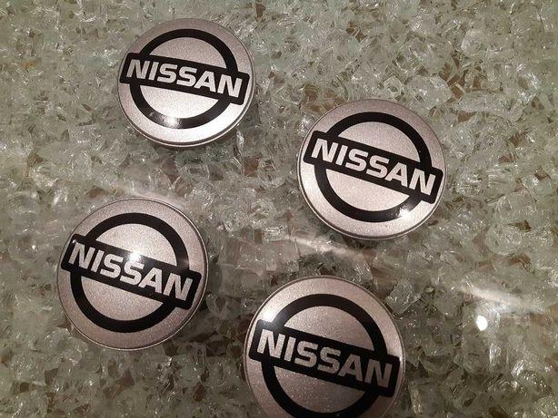 Dekielki / zaślepki na alufelgi - Nissan