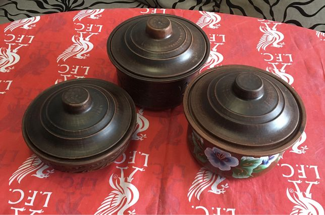 Набор глиняной посуды для запекания