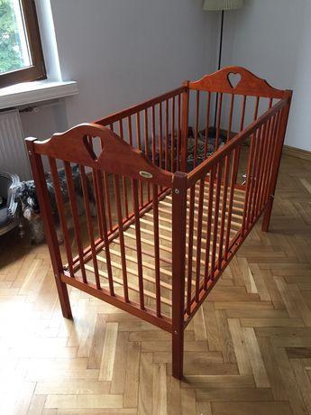 Drewniane łóżeczko dziecięce Drewex