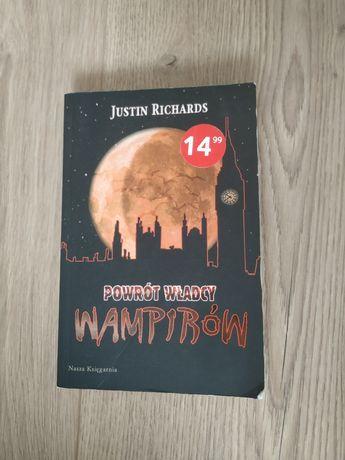 Powrót władcy wampirów Justin Richards