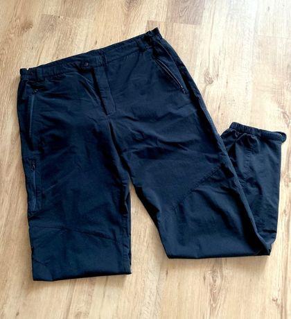 Spodnie trekingowe XXL Norheim czarne turystyczne narciarskie
