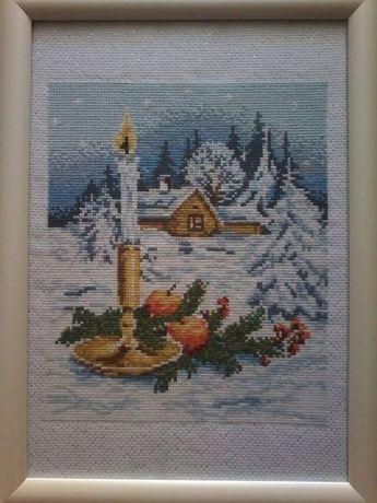 Вишита вышитая картина Різдво Рождество