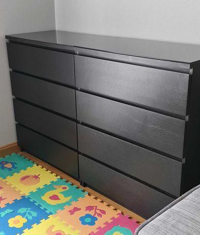 2 x Cómoda Malm IKEA - 4 Gavetas (80cm x 100cm) - Cor Wengué