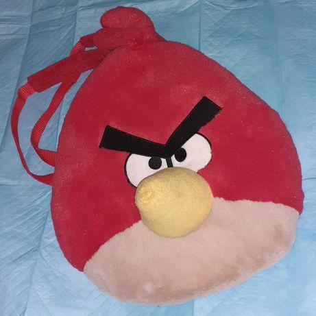 Детский рюкзак, рюкзачок Злая птичка