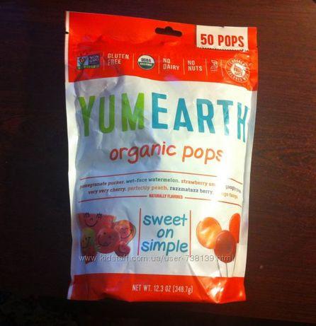 Органические чупа-чупсы пачки и поштучно Lollipops без красителей США