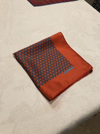 Hermès lenço de bolso