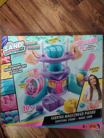 SO SAND Fabryka Magicznego Piasku Piaskowe Kreacje zabawka dla dzieci
