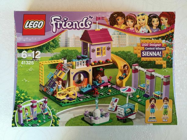 Lego Friends Plac zabaw w Heartlake