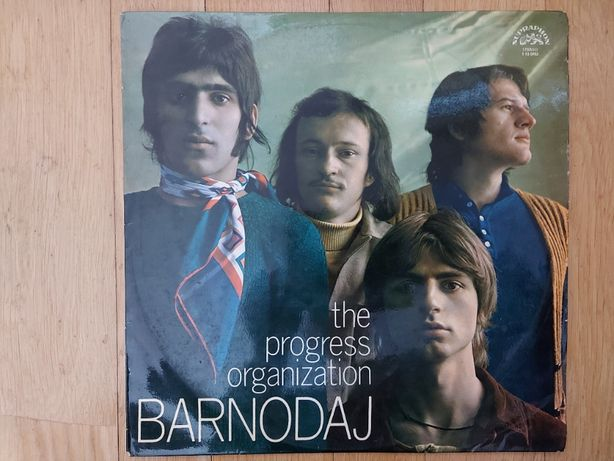 The Progress Organization, Barnodaj, Czechy, Supraphon, 1972, bdb--