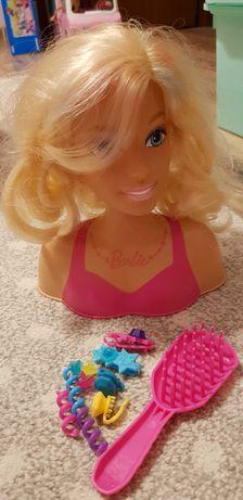 Głowa do czesania do stylizacji Barbie z akcesoriami