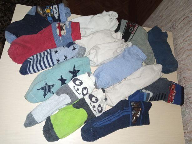 Носочки на мальчика Цена за 15 пар 30-35 размер Шапка в подарок