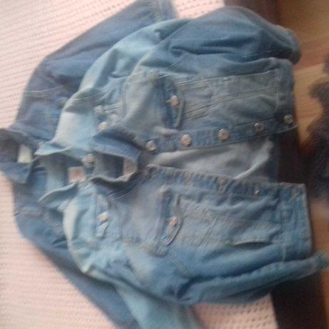 Kurteczki jeansowe dla dziewczynki
