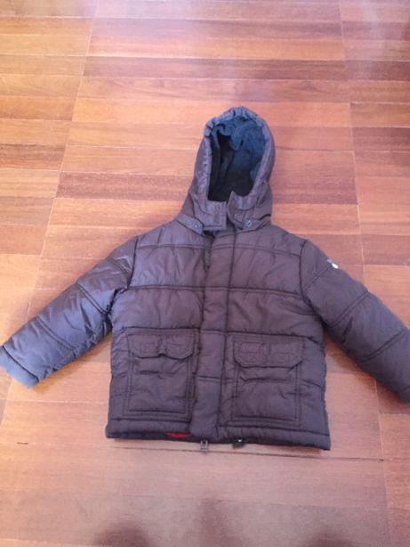 casaco inverno castanho, marca ESPRIT, 2-3 anos