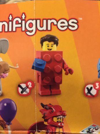 Lego mini figures 40 years