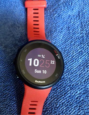 Relógio GPS Garmin Forerunner 45 - Impecável Cor Lava