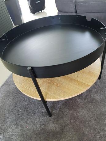 Loftowy stolik kawowy.