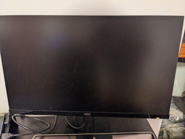 """Monitor LED 24""""AOC 24V2Q"""