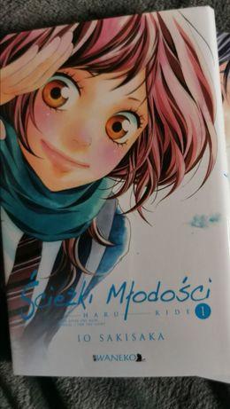 Ścieżki młodości manga tom 1 anime