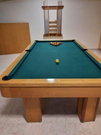 Bilhar completo ÷ mesa ping pong + mesa jantar