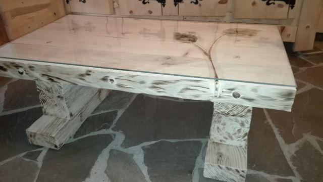stół ława stolik kawowy drewniany NOWY