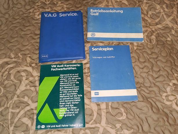 Volkswagen GOLF 2 II instrukcja obsługi książka serwisowa