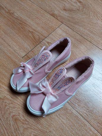 Trampki buciki sportowe buty dziewczęce króliczki różowe 29 nowe