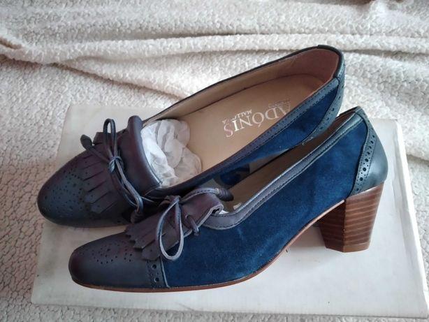 New Collection e Tendência  Sapatos de Pele Tamanho 37