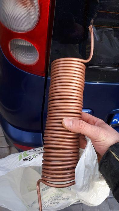 Chłodnica miedziana destylator fi 6 3m Bielawa - image 1