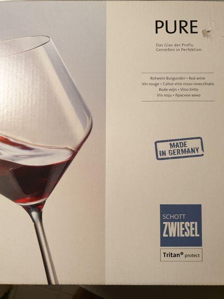 Niemieckie kieliszki do Czerwonego Wina Schott Zwiesel PURE Kryształ