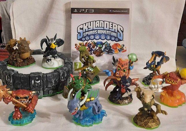 PS3 - Figuras Skylanders Spyro's Adventure procuram novas aventuras ;)