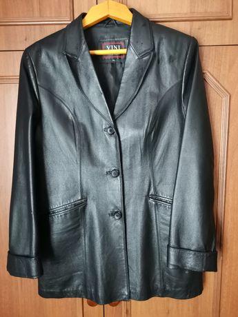 Пиджак кожаный женский 52-54