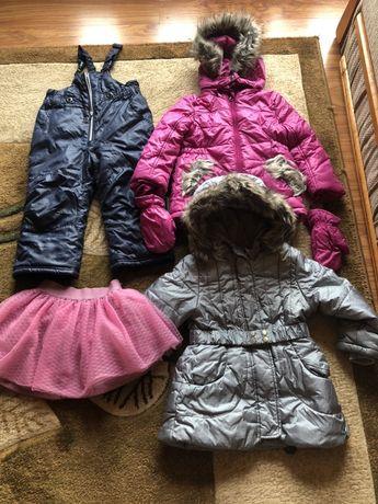 Super zestaw zimowy dla dziewczynki Coccodrillo r. 92