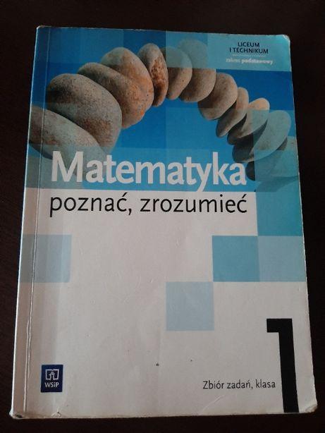 Matematyka- poznać, rozumieć 1 zbiór zadań poziom podstawowy