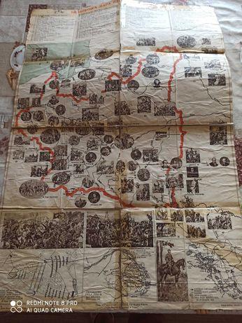 Mapa dzieje Polski antyk