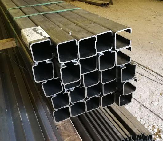 50x50x17x2,5mm L6m Profil ceownik bramowy