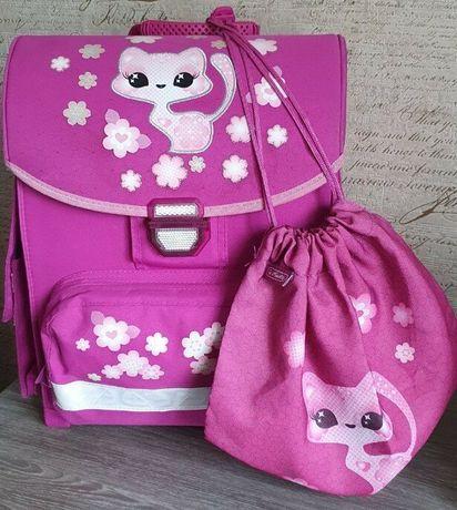 Яркий каркасный ранец рюкзак сумка Herlitz SMART