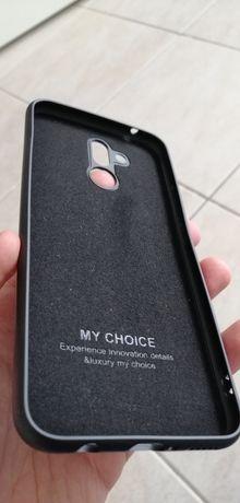 Capa Huawei Mate P20 Lite Preta Aveludada