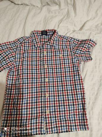 Koszula w kratę 4lata, 116