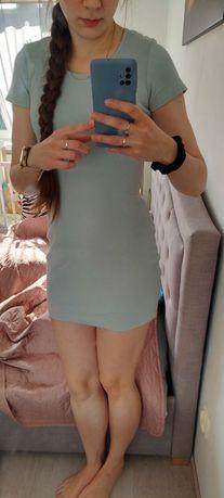 Sukienka turkusowa