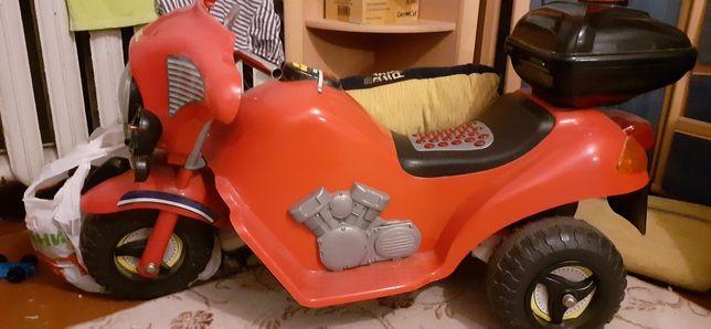 Электромотоцикл детский. Большой.